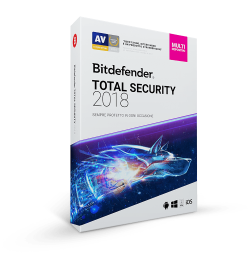 Bitdefender Total Security 2021 3 Dispositivi