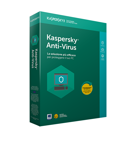 Kaspersky Antivirus 2020 1 PC