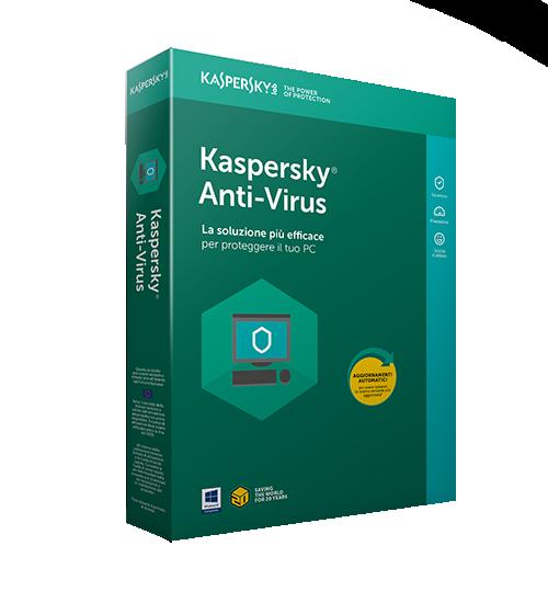Kaspersky Antivirus 2021 5 PC