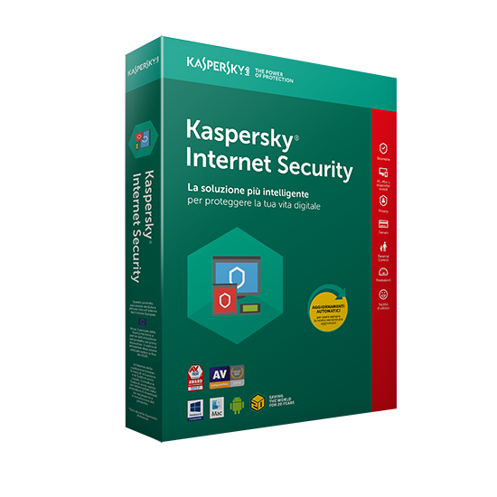 Kaspersky Internet Security 2021 1 PC