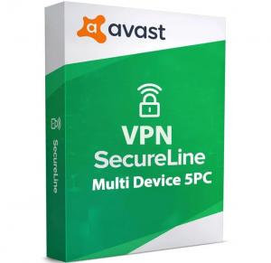 Avast SecureLine VPN 5 Dispositivi